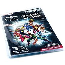 Comic Sacs Taille (Argent, Lot de 100)