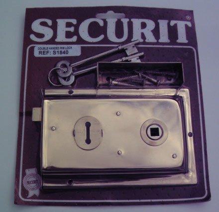 Securit  - S1840 llanta bloqueo doble ancho 150mm mano