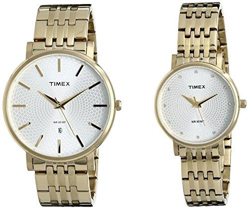 Timex Analog Silver Dial Unisex Watch-TW00PR208