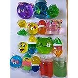 Royals Slime Toys for Kids - 6 Pieces Mix Design, Multicolour