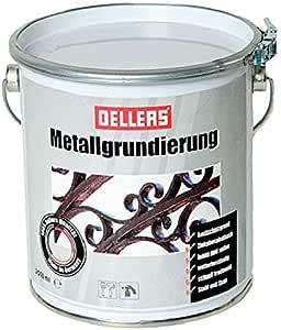 Metallgrundierung Rostschutzgrundierung 2 5 Liter Ral 6011 Grün Zinkphosphat Grundierung Für Eisen Und Stahl Wetterbeständiger Metallgrund Baumarkt