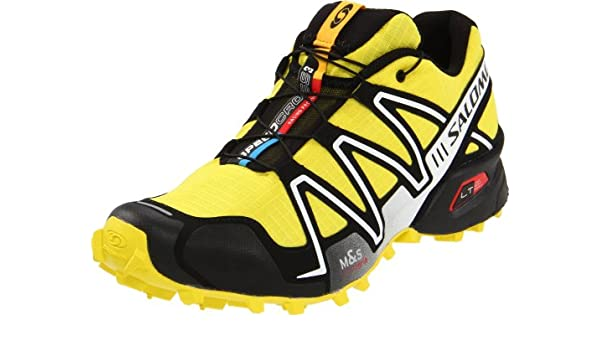 buy popular 6fc8d 9fa85 Salomon Men s Speedcross 3 Running Shoe, Canary Yellow Black Cane, 8 M US   Buy Online at Low Prices in India - Amazon.in