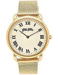 dcbf6b5c8c27 Folli Follie Reloj Brazalete Folli wf16g013bpz reloj de pulsera para mujer  reloj blanco oro amarillo