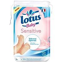 Cuadrados LOTUS algodón sensible del bebé bebé Maxi 65 Piezas - Juego de 12