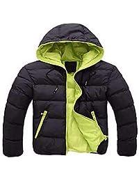 Giacca Trapuntata da Uomo N Cappotto da Donna Slim Color Warm Classiche  Down Down Manica Lunga 4ee0dae9e38
