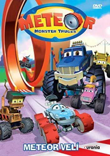 Meteor Monster Trucks 3 - Meteor veli (Bigfoot Presents: Meteor and the Mighty Monster Trucks 3) [paper sleeve] - Monster-truck-dvd