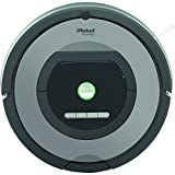 iRobot Roomba 772 Robot Aspirador, Alto Rendimiento de Limpieza, Programable, Atrapa el Pelo de Mascotas, 33 W, 33 Decibelios, Plata