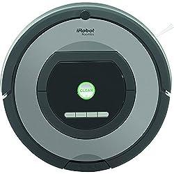 iRobot Roomba 772e Staubsaugroboter (hohe Reinigungsleistung, Reinigung nach Ihrem Zeitplan, geeignet bei Tierhaaren) grau