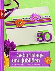 Geburtstage und Jubiläen: Die schönsten Einladungskarten zum besonderen Anlass
