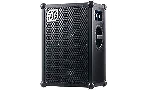 SOUNDBOKS 2 - Tragbarer Bluetooth Lautsprecher (122 dB Lautstärke, Robustes Gehäuse, 40h durschschnittliche Akkulaufzeit) - Black Edition (1BB)