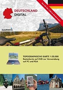 Garmin TOPO DVD Deutschland Digital 50