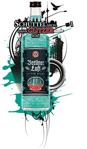 BERLINER LUFT GLITTER NIGHTS - Limited Edition und türkis, 18% Alc. 0,7l
