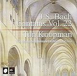 J.S. Bach: Cantatas, Vol. 22 by Ton Koopman (2006-09-07)