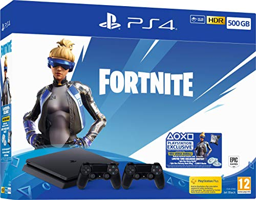 Fortnite Neo Versa 500GB PS4 Bundle with Second DualShock 4 Controller (PS4) (PS4)