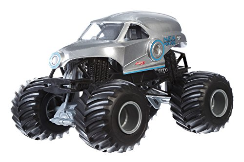 Mattel Hot Wheels CGD64 Metal vehículo de Juguete - Vehículos de Juguete, Camión, Metal, Monster Jam, New Earth Authority, 3 año(s)