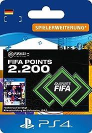 FIFA 21 Ultimate Team 2200 FIFA Points | PS4 (inkl. kostenlosem Upgrade auf PS5) Download Code - deutsches Kon