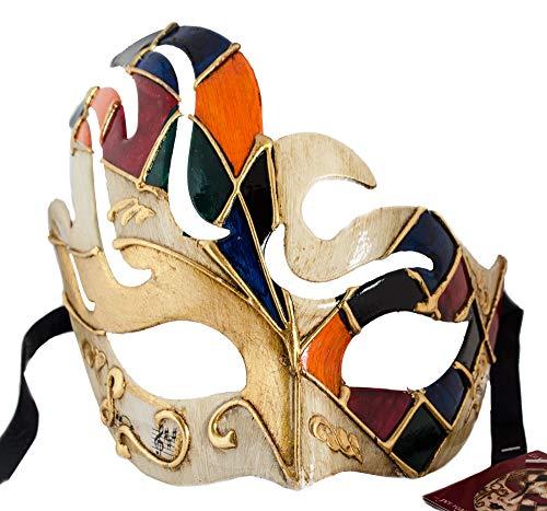 Lanna Infantil Hecho a Mano Máscara Antifaz Colombina Ball Máscara Veneciana Carnaval