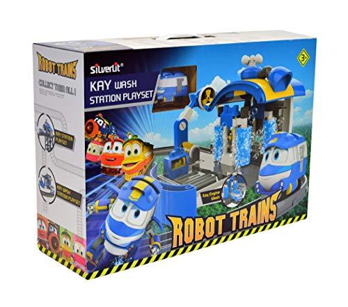 Robot Trains - 80171 - Station De Lavage De Kay 123 cm + train Kay incluse