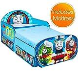 Thomas und seine Freunde Kinderbett mit Lagerung und Deluxe-Schaummatratze