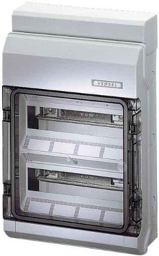 Hensel Automatengehäuse KV 2524 24TE 2x12x18mm IP54 Installationskleinverteiler 4012591622260