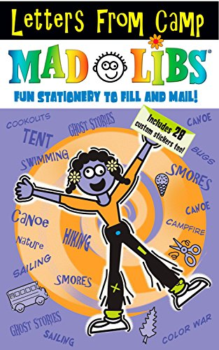 Letters from Camp Mad Libs [With Stickers] (Mad Libs (Unnumbered Paperback))