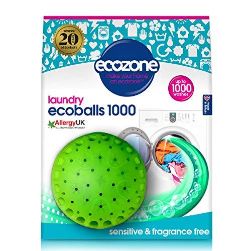 Ecozone NEB1 Ecoballs, 1000 Waschgänge, verbesserte Rezeptur mit erhöhten Leistungseigenschaften -