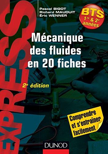 Mcanique des fluides en 20 fiches - 2e d.