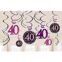 Suchergebnis Auf Amazon De Fur Deko 40 Geburtstag