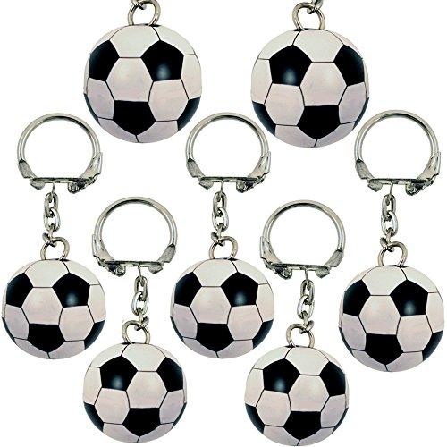 German Trendseller® - 12 x llavero fútbol ┃pendiente┃para