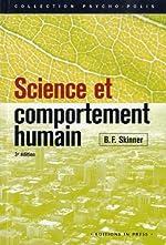 Science et comportement humain de B.F. Skinner