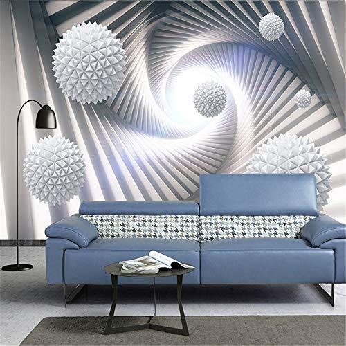 Sucsaistat Tapeten Wandbild 3D Wandbild Kinder Tapete Solaranlage Planet Wandbild Wohnzimmer Kinderzimmer Schlafzimmer Tapete TV Sofa Hintergrund, 250 * 175cm
