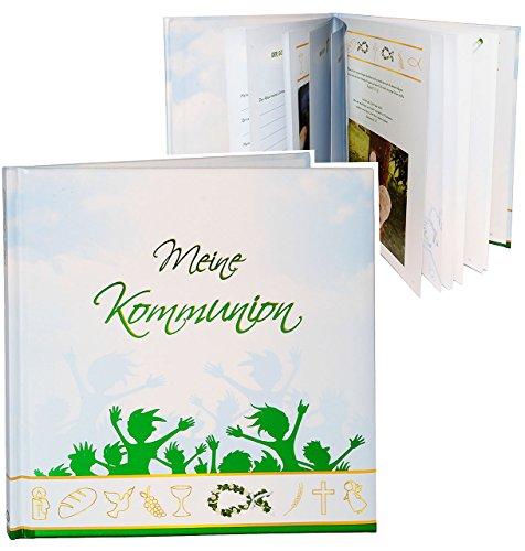 Unbekannt Kommunionsalbum / Erinnerungsalbum / Fotoalbum -  Meine Kommunion  - Gebunden zum Einkleben & Eintragen - Album & Erinnerungsbuch - Fotobuch / Photoalbum / ..