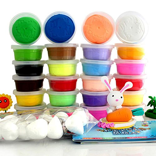 fun-art-plasticine-modeling-clay-ultra-light-air-dry-clay-24-colors-a-box