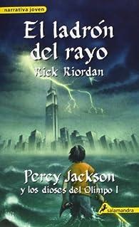 El ladron del rayo / The Lightning Thief   by Rick Riordan  Paperback par Rick Riordan