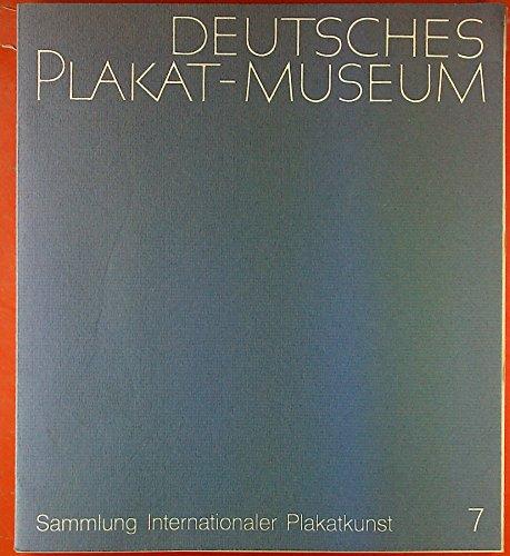 Deutsches Plakat-Museum. Sammlung Internationaler Plakatkunst 7. ernst Klett Druckerei Stuttgart -Werk Korb 7. Oktober 1972. Ausstellung: Zirkus-Varieté - Schausteller - Plakate aus neun Jahrzehnten