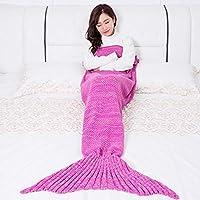 ZHULIAN Mermaid Sirena de Punto Sirena Cola (tamaño : 200 ...