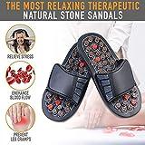 Chaussures Santé Réflexologie Pantoufle D'Acupression de Tai Chi Bagua Sandales de...