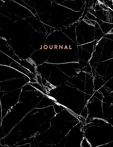 Journal: Executive Black Marble and Gold  | 8.5 x 11 - A4  - College Ruled Notebook (Marble and Gold Journals, Band 1) (Executive Journal Black)