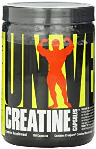 Universal Nutrition Creatine Capsules Pack of 100 by Universal Nutrition