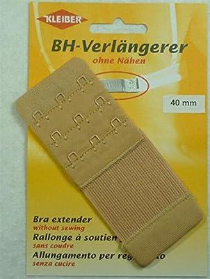 Kleiber 40 mm Treble Hook Bra Extender, Beige/ Nude