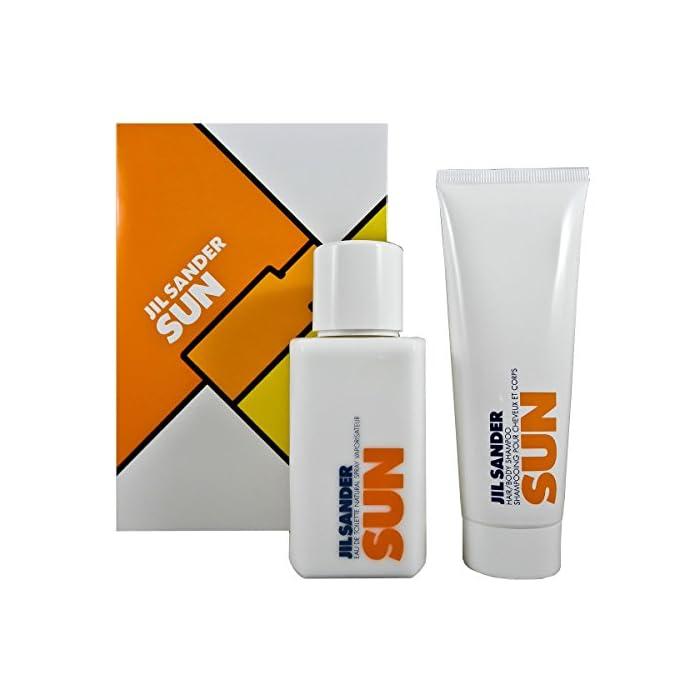 Jil Sander Sun Geschenkset (EdT Spray 75ml + Duschgel 75ml) 1