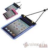 BRALEXX Universal Wassertasche passend für Blaupunkt LIVRO, Blau, 7 Zoll