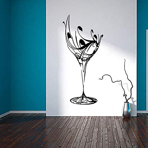 zhuziji Musulmano Islamico Arte murale Rimovibile Calligrafia Decalcomania del PVC Wall Sticker Home Decor Soggiorno muurstickers Room dec50.4x111.6cm