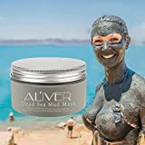 Aliver® Dead Sea Mud Mask for Face, Body & Hair - 100% Natural Spa Quality - Best Pore Reducer & Minimizer to Help Treat Acne , Blackheads & Oily Skin