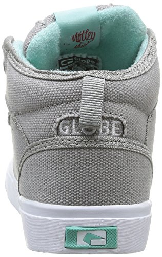 Globe Motley Mid, Baskets mode mixte enfant Gris (14215 Grey/Aruba)