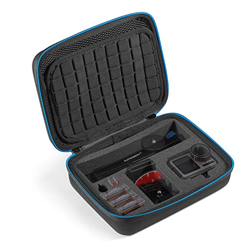 Supremery Tasche für DJI Osmo Action Cam Case Hülle Tasche Koffer für Kamera, Gehäuse, Akku und Zubehör