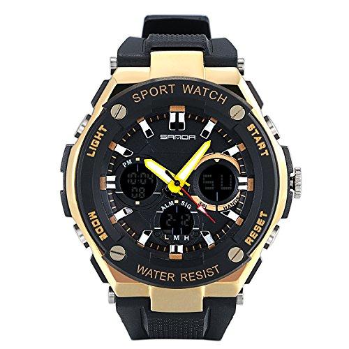 n Armbanduhr mit Silikon Armband ()