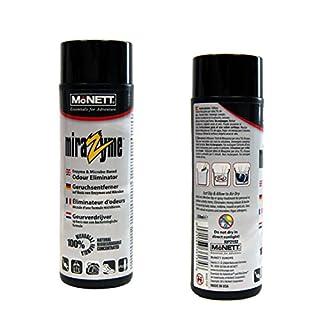MiraZyme Geruchsentferner für die chemische Entfernung von Duft, Gestank, Geruch, Moder von Textilien, wie Sportbekleidung Taucheranzug, Neopren Tauchen Zelt - 250ml Geruchsvernichter