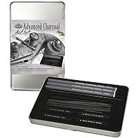 Royal & Langnickel RSET-ART2503 - Set carboncillo de diseño artístico