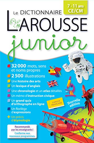 Larousse dictionnaire Junior 7/11 ans par Collectif